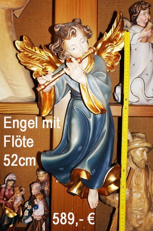 Engel mit Flöte 52cm