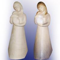 moderne Madonnen bzw. Mutter mit Kind