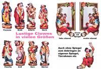 Spiegel mit Clown - Clownspiegel