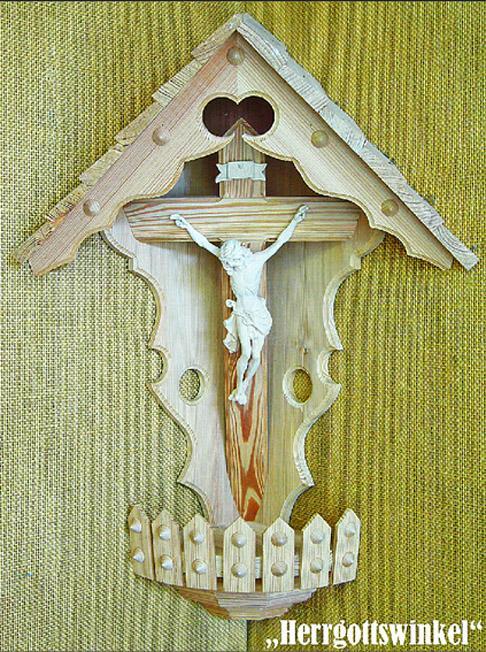 Kreuz in bäuerlicher Tradition, Eckkreuz