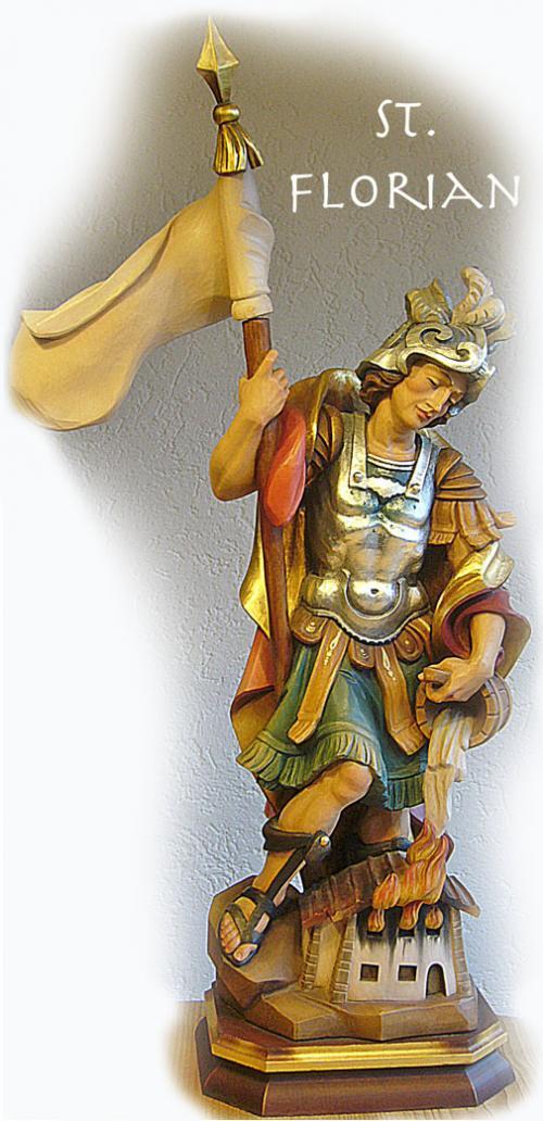 St. Florian in verschiedensten Ausführungen und Größen 30 bis 60cm