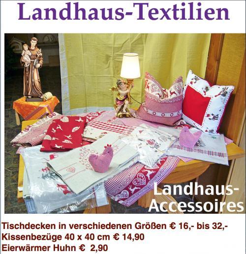 Landhaus Accessoires Landhaus Tischdecken Karlsruher