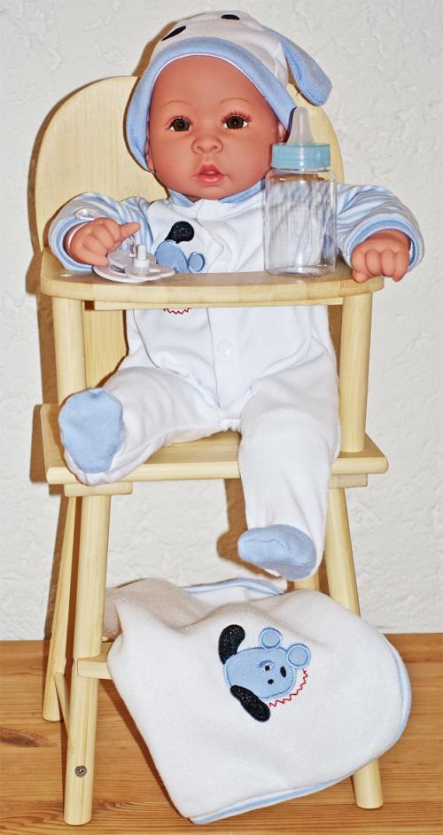 pädagogisches Spielzeug - Puppe mit oder ohne Stuhl